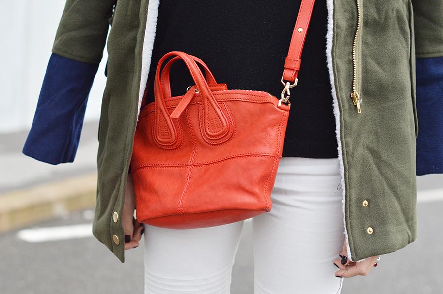 Parka, come abbinare il parka, how to wear parka, givenchy bag, givenchy nightingale bag, zara shoes, zara heels, elisa taviti, my fantabulous world, elisa taviti blogger, fashion blogger, fashion blogger firenze