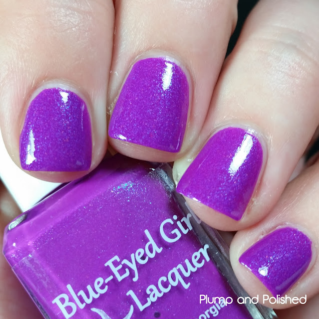 Blue-Eyed Girl Lacquer - Siren's Summer Vacation