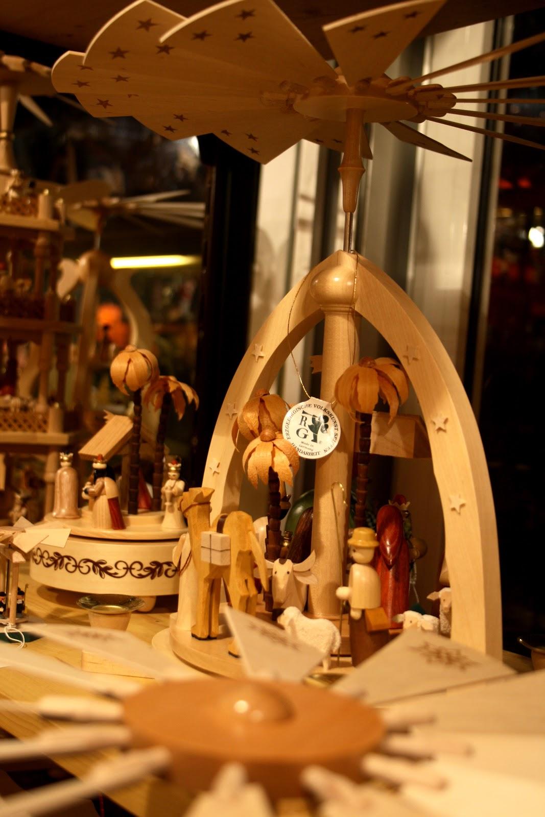 Décoration de noël au marché de noël de Gendarmenmarkt