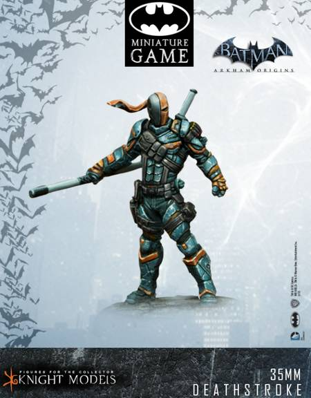 Deathstroke Origins Sidekick for Scarecrow gang