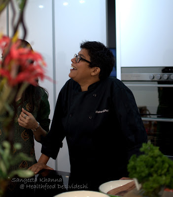 cooking with Ritu Dalmia, the diva who is unstoppable, incorrigible and totally in love with all things food...