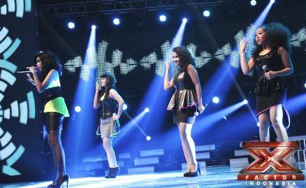 Ilusia Girls X Factor Indonesia