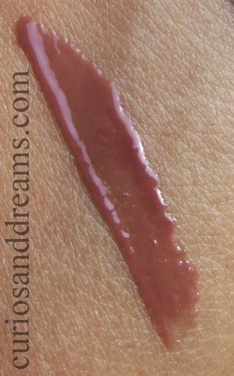 Maybelline Watershine Liquid Gloss Naked Brown review, Maybelline Watershine Gloss Naked Brown swatch