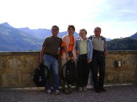 Excursion en famille en Gruyère. Quel magnifique paysage celui des Préalpes Fribourgeoises!