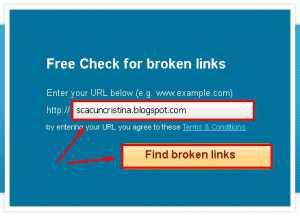 Tutorial cara cek broken link dalam blog