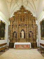 Retablo barroco, Colegiata de Santa Maria la Mayor