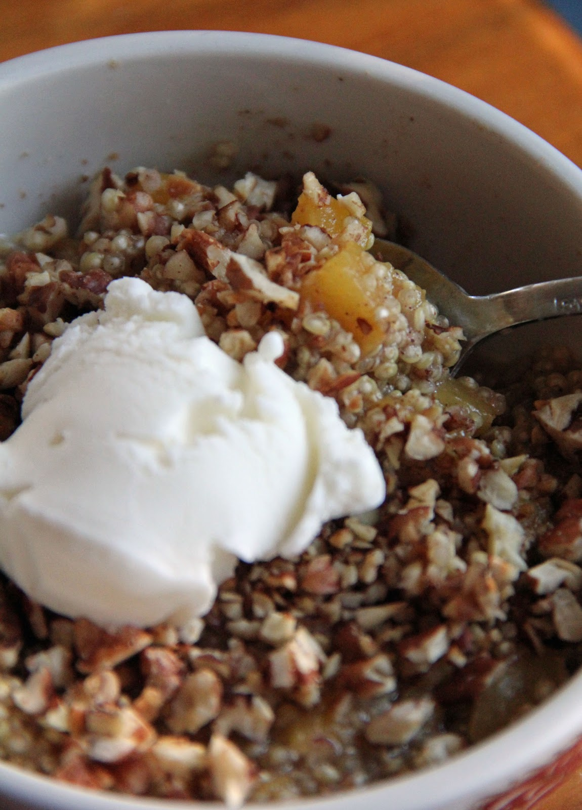 Jo and Sue: Breakfast Quinoa