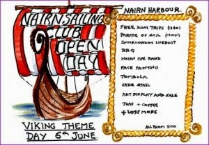 Sailing Club Open Day Viking theme Sat 6th June