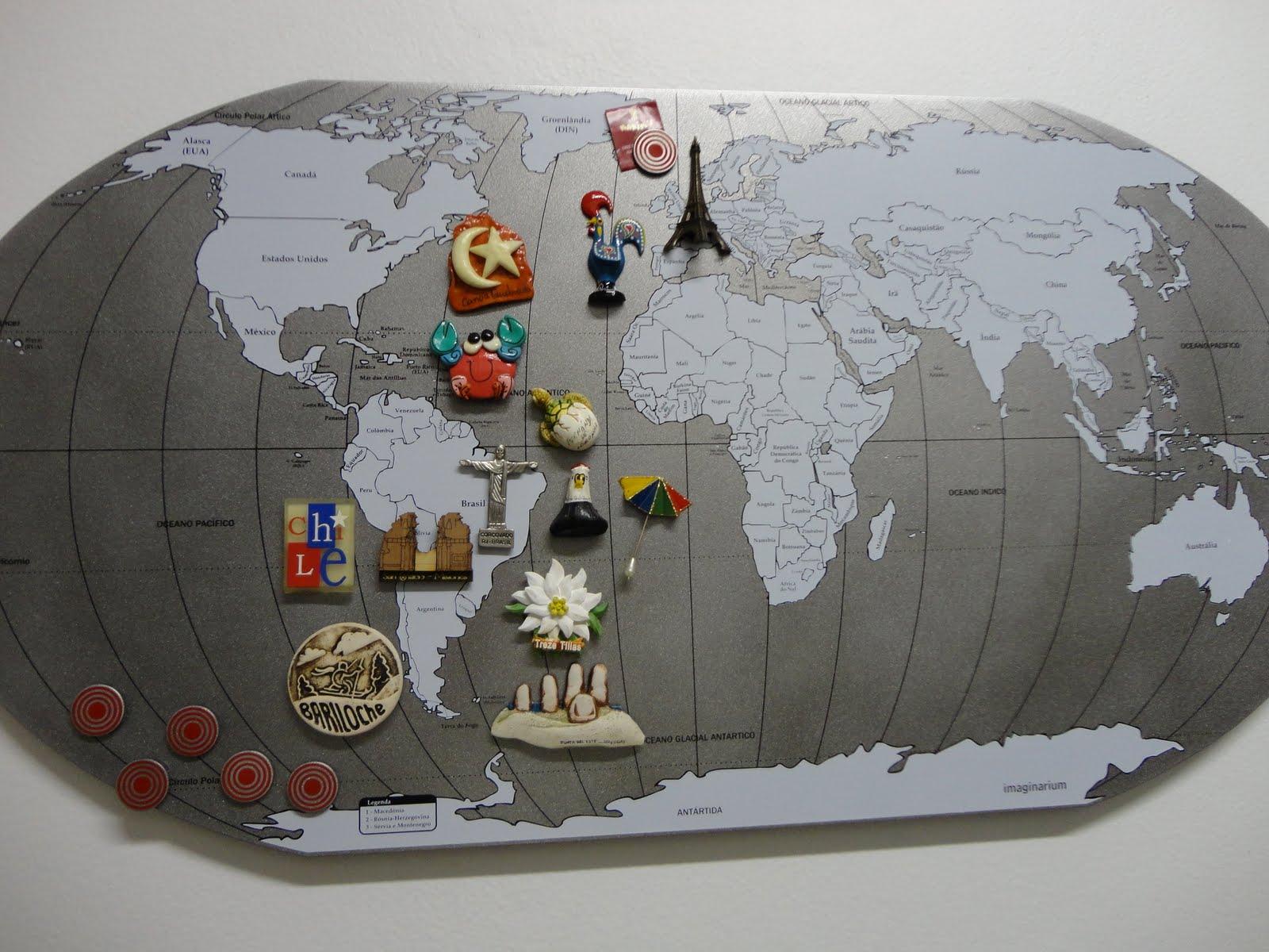 Do RS para o Mundo: Mapa Mundi