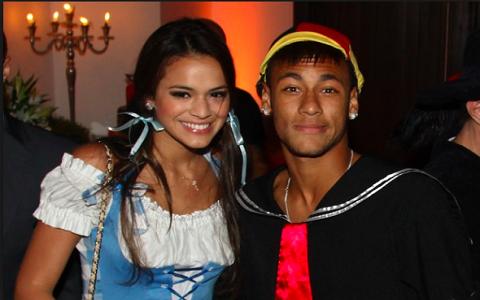 Bruna Marquezine e Neymar têm uma relação mal resolvida