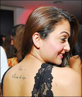 bollywood actresses private sexual parts tattoo's exposed