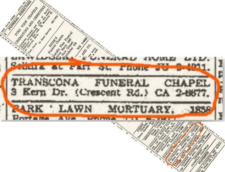 Anzeige Funeral Chapel