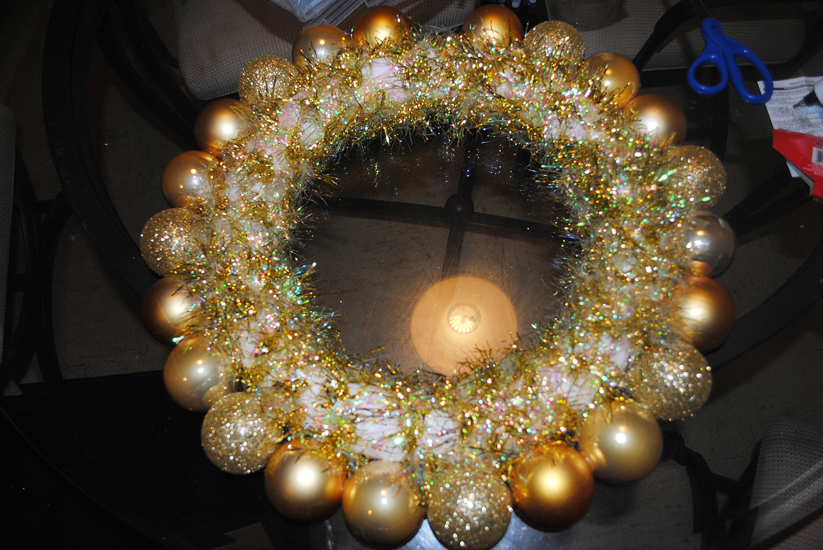 Truly Yours A Diy Wednesday Christmas Ornament Wreath