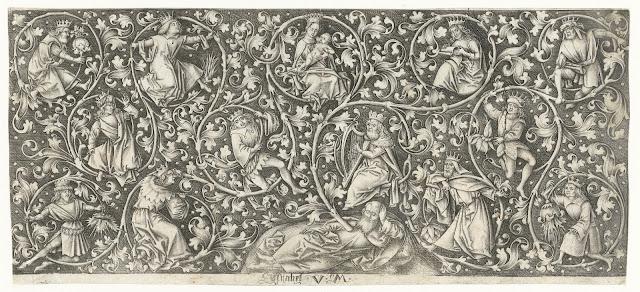 Boom van Jesse, Israhel van Meckenem, 1455 - 1503