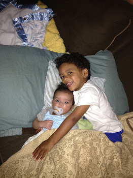 Noah and Elijah after Discharge