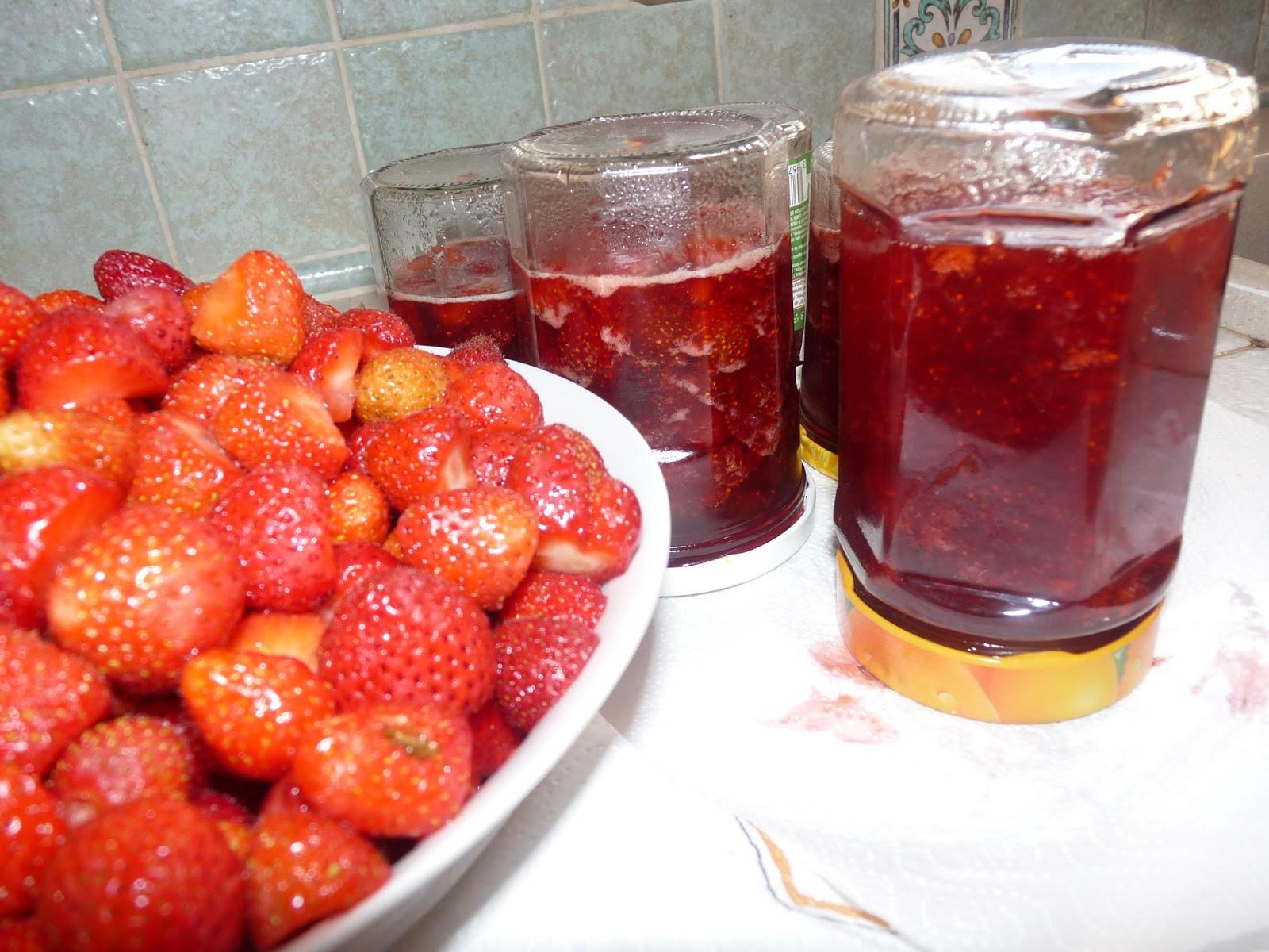 Passion cuisine confiture de fraises maison - Confiture de fraises maison ...