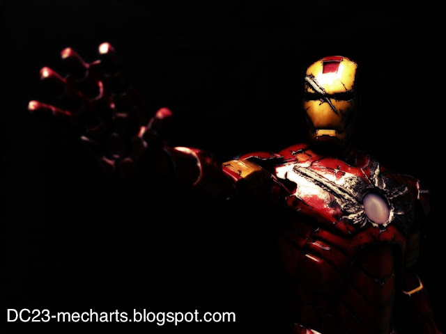 custom Ironman statue verDC23 photo