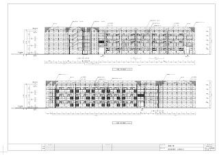 建設工事 仮設計画図 立面図