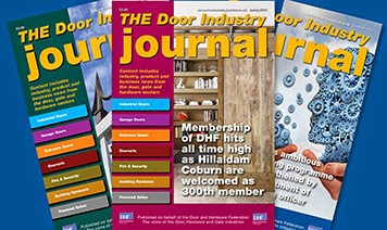 Featuring the 110 page Spring 2015 issue of the  Door Industry Journal