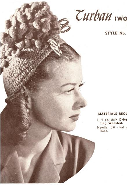 The Vintage Pattern Files 1940s Knitting Crochet A Novelty