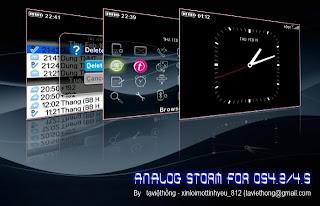 1 1104040010580 L ANALOG storm Pro 81xx themes