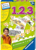 Apprendre les chiffres avec les puzzles d'1,2,3