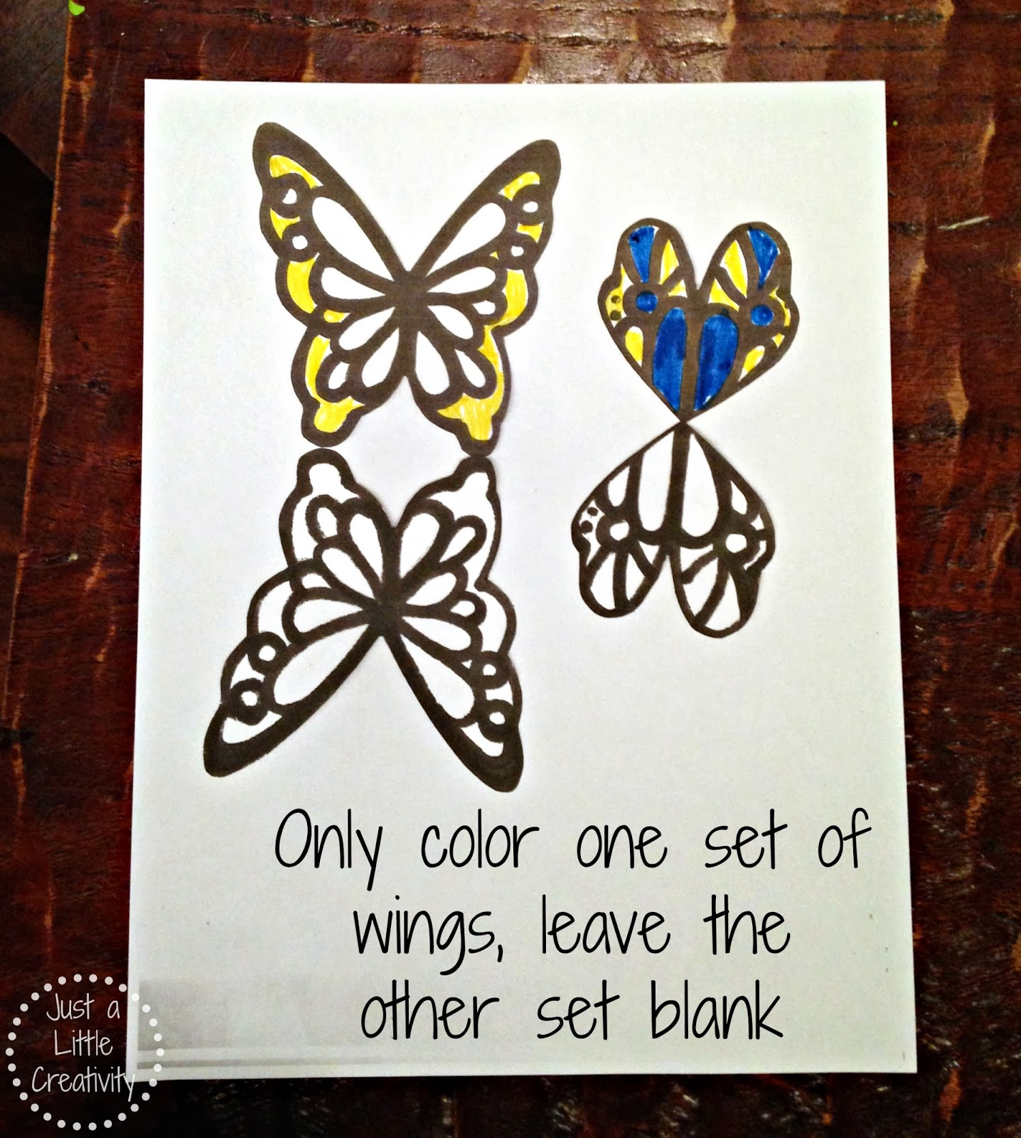 Just A Little Creativity Create With Kids Butterfly