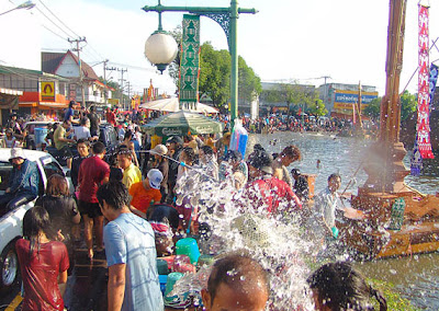 Songkran Water Festival in Bangkok