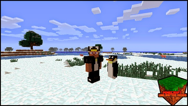 Rancraft Penguins Mod armor