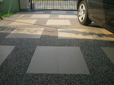 My Hy Family Projek Car Porch Pasang Tiles