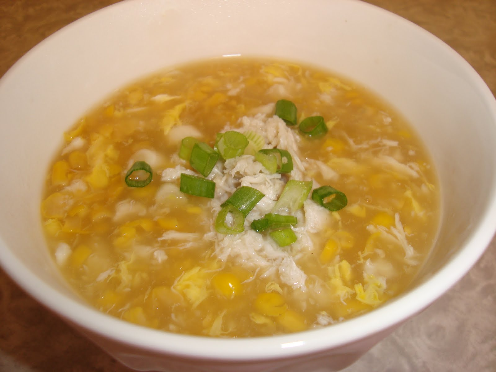 how to make chicken soup with corn