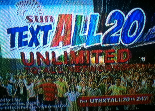 sun unlimited text