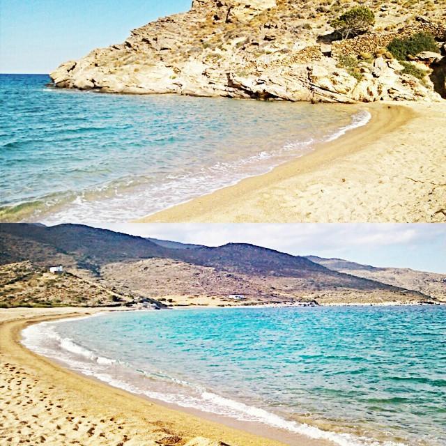 Instagram @lelazivanovic Ios Greece. Kalamos beach.