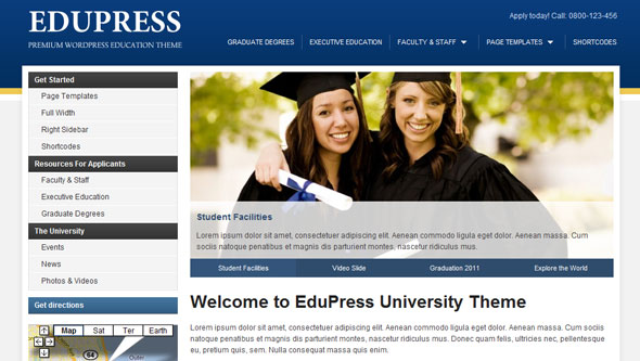 EduPress - Education Premium WordPress Theme Free Download by WpZoom.