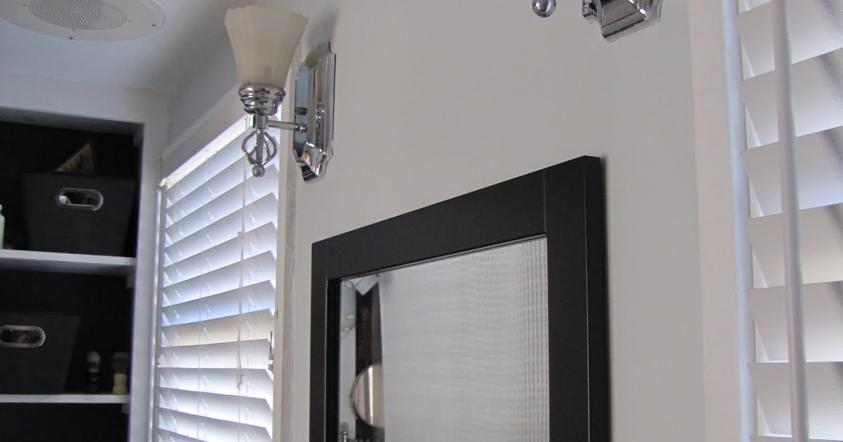 Mad For Mid-Century: Done: New Mirror-Side Lights In