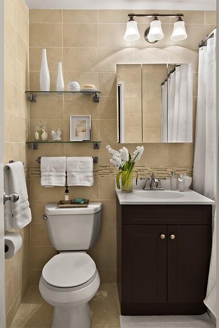 decoracao banheiro simples pequeno:Decoracion De Banos Pequenos