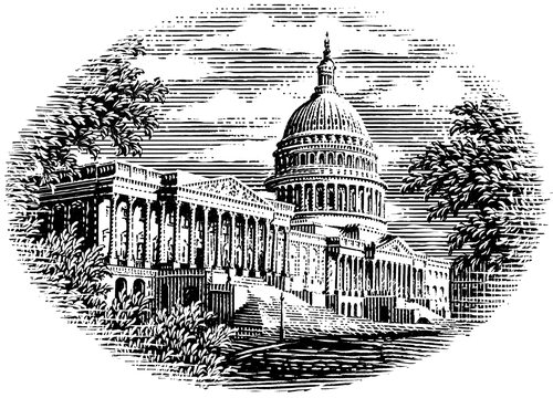 06-United-States-Capital-Michael-Halbert-Scratchboard-Images-of-Animals-and-Architecture-www-designstack-co