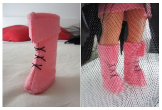 mis nancys, mis peques y yo, disfraz brujilla nancy detalle botas cordones
