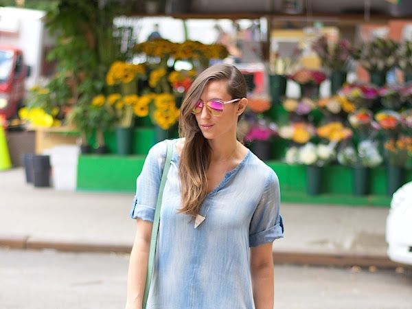 Chambray & Candy Colored Accessories