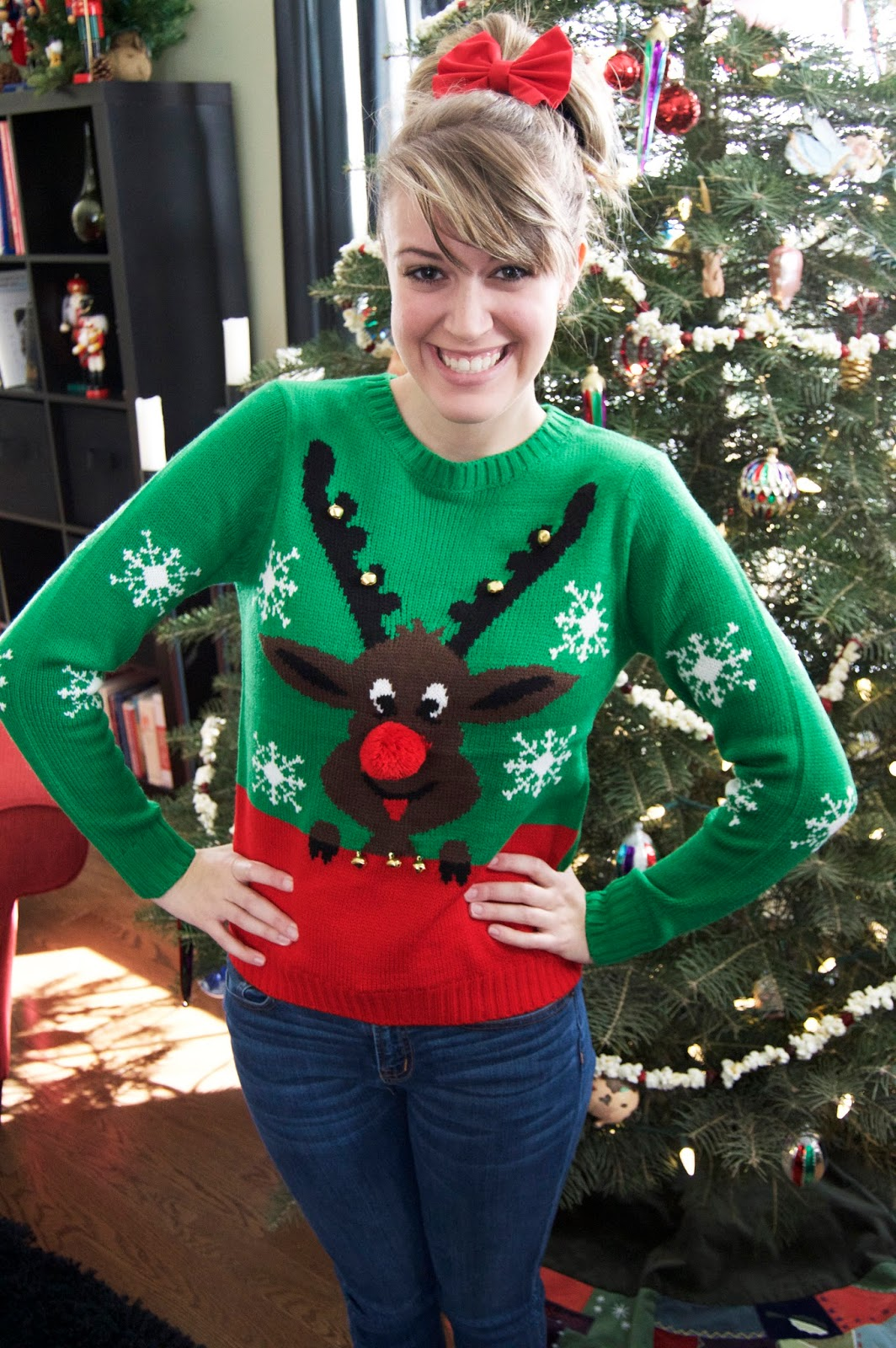 dress in sparkles: The (Not-So) Ugly Christmas Sweater