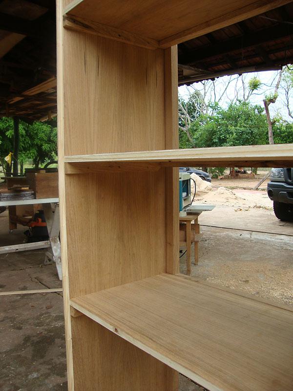 shelf, face frame