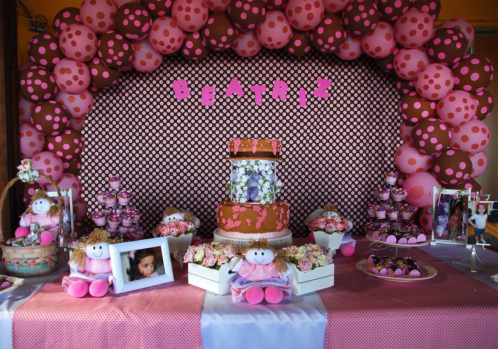 Festa Infantil Po    Festa Infantil Marrim E Rosa