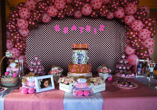 festa infantil poá, festa infantil marrim e rosa