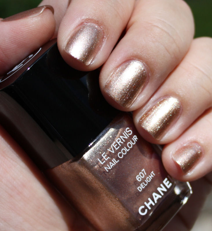 Vernis Nail: Pondering Beauty: Chanel Le Vernis Nail Colour In Delight