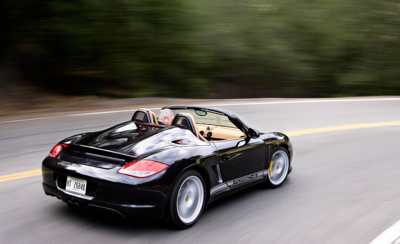 Porsche Boxster Spyder Hd Wallpapers 2011