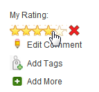 Star Rating in BiblioCommons