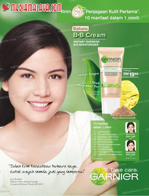 iklan garnier lisa surihani