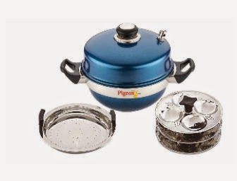 Snapdeal: Buy Pigeon Multi Kadai Blue At Rs. 749