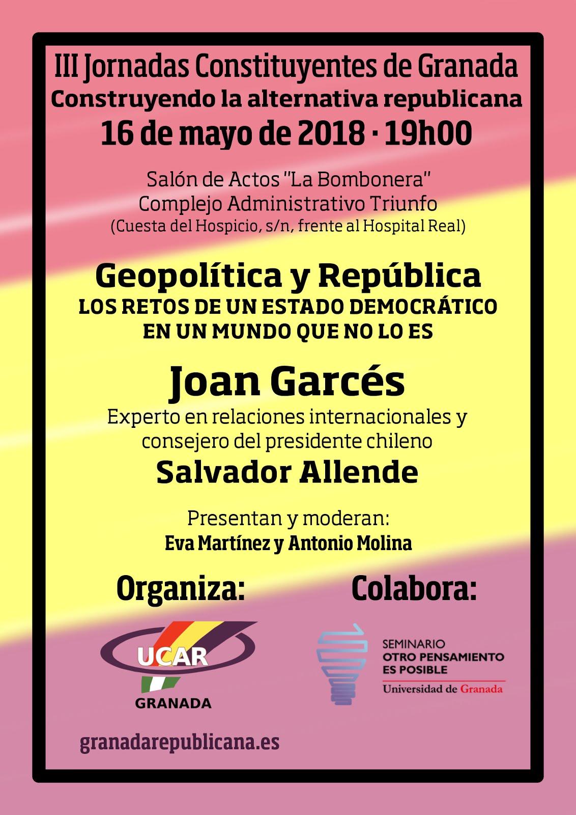 Geopolítica y República