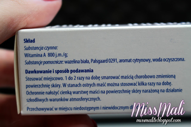 Maść ochronna z witaminą A recenzja